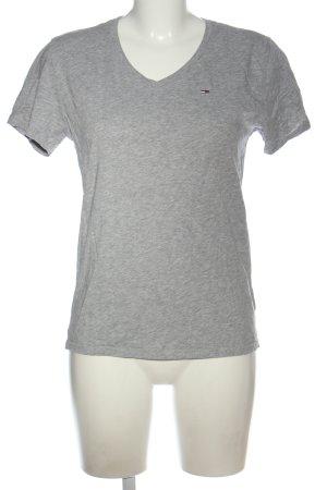 Tommy Hilfiger T-Shirt hellgrau Casual-Look