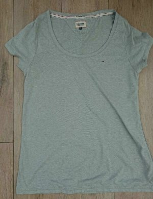 Tommy hilfiger t shirt damen, Basic, Grau, Gr. S