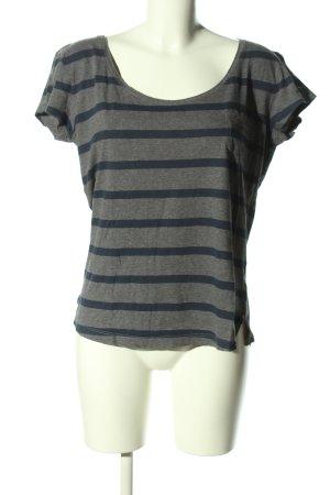 Tommy Hilfiger T-Shirt hellgrau-blau meliert Casual-Look