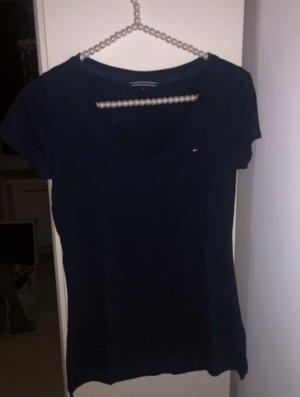 Tommy Hilfiger t-Shirt dunkelblau tailliert *neu*