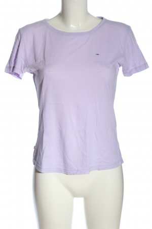 Tommy Hilfiger T-Shirt lila Casual-Look