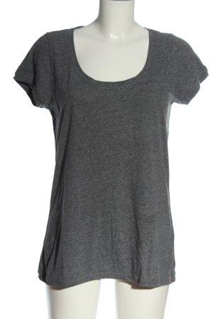 Tommy Hilfiger T-Shirt hellgrau meliert Casual-Look