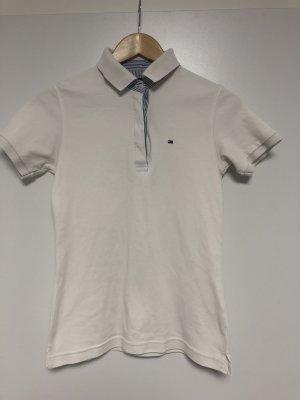 Tommy Hilfiger Camiseta tipo polo blanco