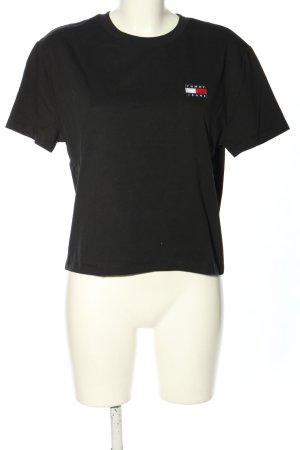 Tommy Hilfiger T-Shirt schwarz Casual-Look