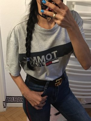 Tommy Hilfiger T-Shirt grauen Shirt Gr:S