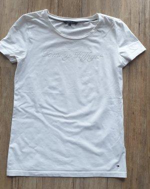 Tommy Hilfiger T-shirt wit Katoen