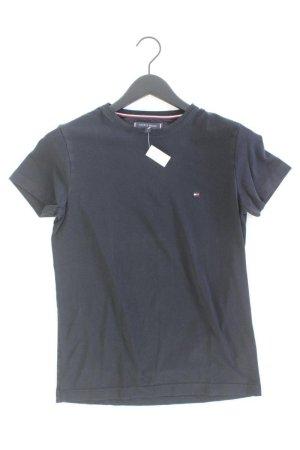 Tommy Hilfiger T-Shirt Größe S Kurzarm schwarz aus Baumwolle