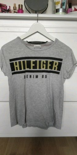 Tommy Hilfiger T-Shirt in grau, XS