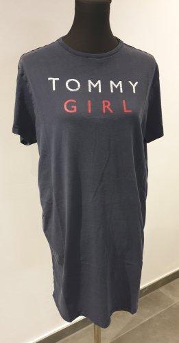 Tommy Hilfiger Sukienka dresowa czarny