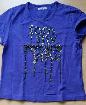 Tommy Hilfiger T-Shirt lila M