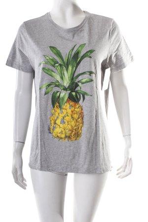Tommy Hilfiger T-Shirt meliert Street-Fashion-Look