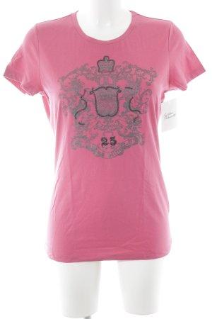 Tommy Hilfiger T-Shirt pink Motivdruck Casual-Look