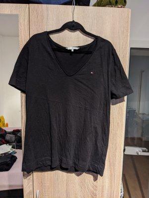 Tommy Hilfiger T-Shirt schwarz Gr. M
