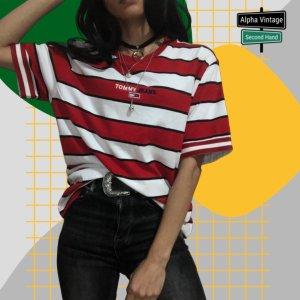 Tommy Hilfiger T-Shirt TJM  Stripe Top Tee   NEU Size XS