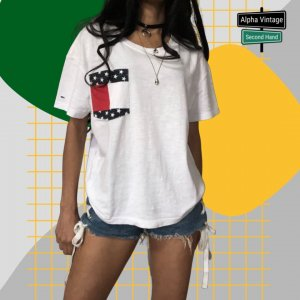 Tommy Hilfiger  T-Shirt Tommy Jeans oversized Top Shirt   S