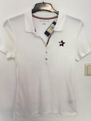 Tommy Hilfiger T-Shirt weiß Casual-Look, NEU mit Etikett