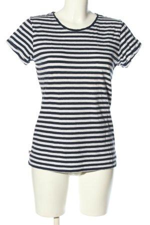 Tommy Hilfiger T-Shirt weiß-schwarz Allover-Druck Casual-Look
