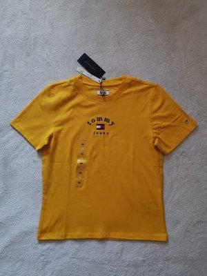 Tommy Hilfiger T-Shirt XS 34 NEU Shirt Top Tommy Jeans senf gelb