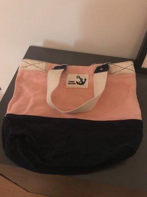 Tommy Hilfiger Canvas Bag pink-dark blue