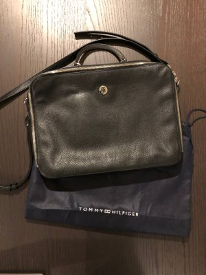 Tommy Hilfiger Laptop bag multicolored leather