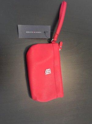 Tommy Hilfiger Mini sac rouge brique