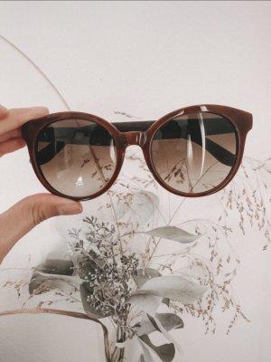Tommy Hilfiger Okrągłe okulary przeciwsłoneczne brązowy-beżowy