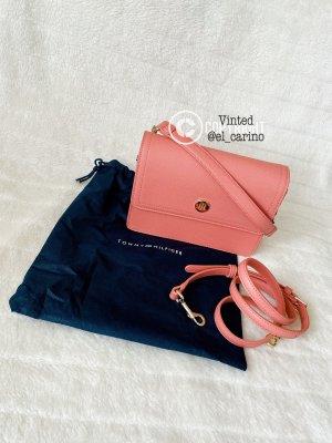 Tommy Hilfiger TH *Honey Shoulder Bag Clay Pink* Schultertasche Umhängetasche Handtasche Peach