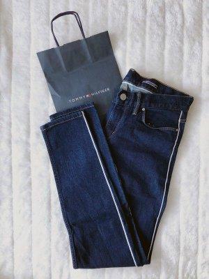 Tommy Hilfiger TH *Venice LW Ankle* Skinny Fit Jeans Hose Anklejeans Denim dunkelblau  Größe W28