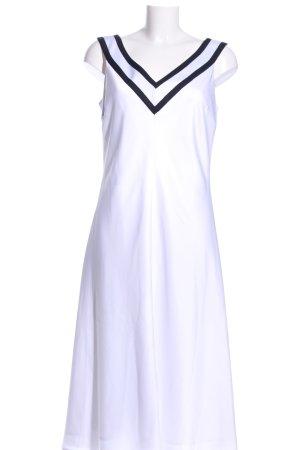 Tommy Hilfiger Trägerkleid weiß-schwarz Casual-Look