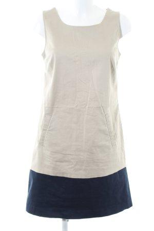 Tommy Hilfiger Trägerkleid creme-blau Business-Look
