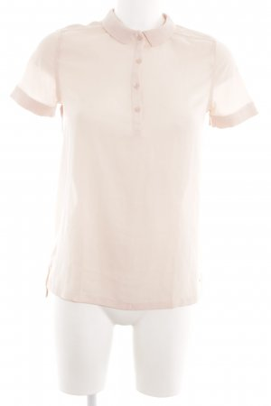 Tommy Hilfiger Transparenz-Bluse nude Business-Look