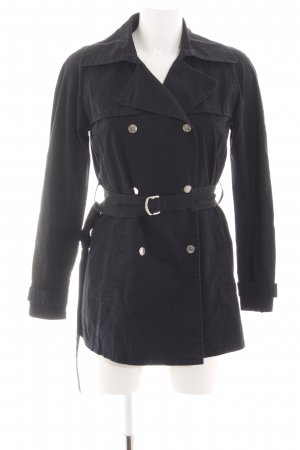 Tommy Hilfiger Trenchcoat schwarz Business-Look