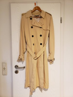 Tommy Hilfiger Trenchcoat crème lyocell