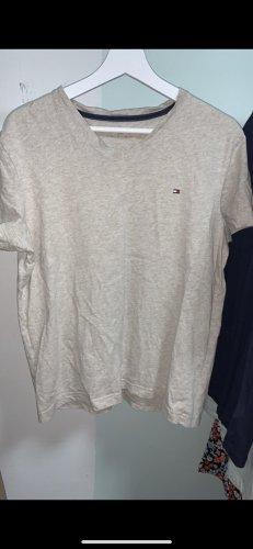 Tommy Hilfiger T-shirt crema-grigio chiaro