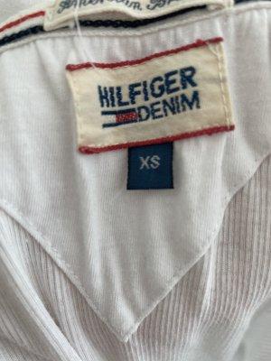 Tommy Hilfiger tshirt in weiß , gr 34