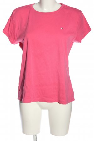 Tommy Hilfiger U-Boot-Shirt pink Casual-Look