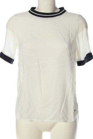 Tommy Hilfiger T-Shirt weiß-schwarz Casual-Look