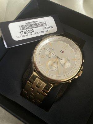 Tommy Hilfiger Horloge met metalen riempje goud