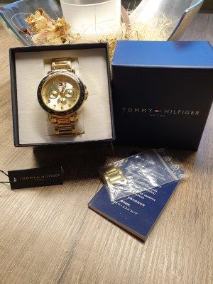 Tommy Hilfiger Uhr Gold Marine