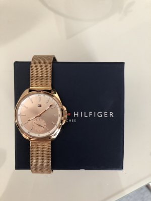 Tommy Hilfiger Watch With Metal Strap rose-gold-coloured-gold-colored
