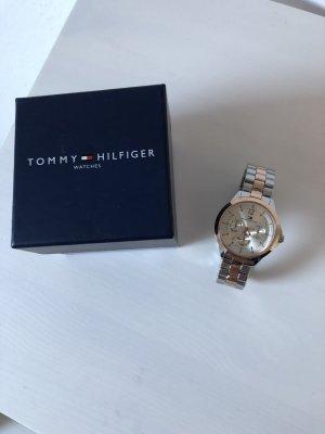 Tommy Hilfiger Uhr Silber/Roségold