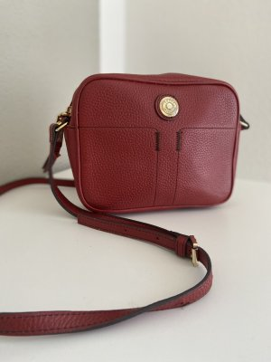 Tommy Hilfiger Crossbody bag carmine-gold-colored leather