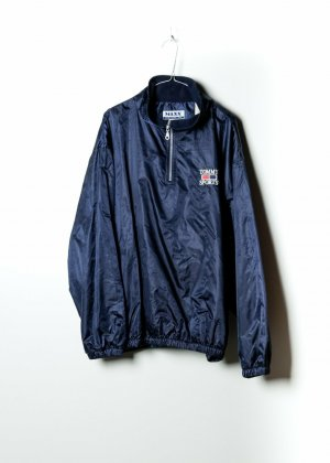 Tommy Hilfiger Unisex Outdoor Jacke in Blau