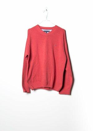 Tommy Hilfiger Unisex Sweatshirt in Rot