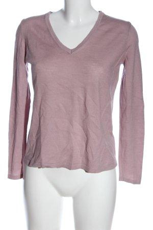 Tommy Hilfiger V-Ausschnitt-Pullover pink Casual-Look
