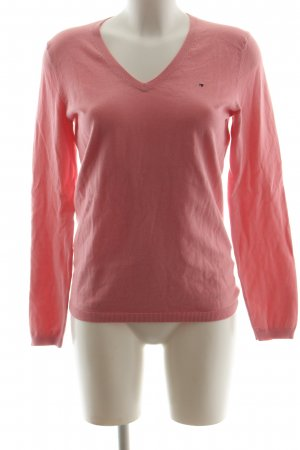 Tommy Hilfiger V-Neck Sweater pink casual look