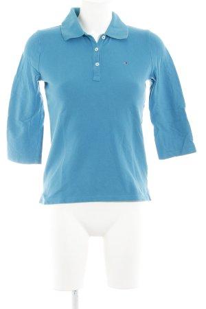 Tommy Hilfiger Jersey con cuello de pico azul cadete look casual