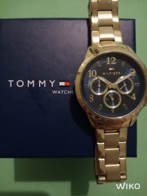 Tommy Hilfiger Analog Watch gold-colored-blue