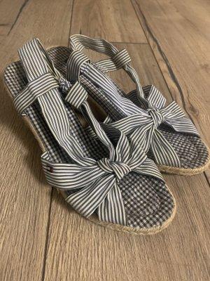Tommy Hilfiger Outdoor sandalen azuur-wit