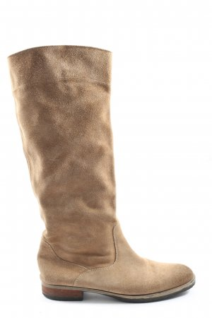 Tommy Hilfiger Wide Calf Boots nude themed print casual look